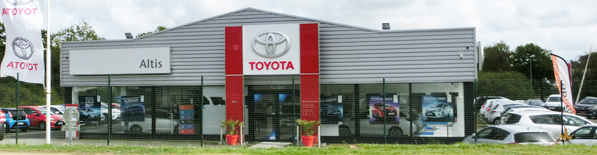 Photo de la concession Altis Toyota à Auray